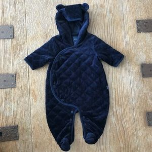 BabyGap Footed Quilted One-Piece